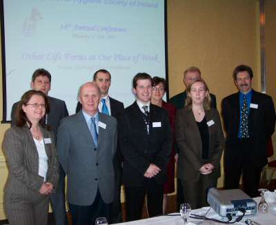 Guest Speakers and Officers of the OHSI Committee at the 14th Annual Conference, 2005